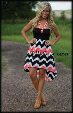 Easy Come Easy Go in CORAL   Filly Flair #dress