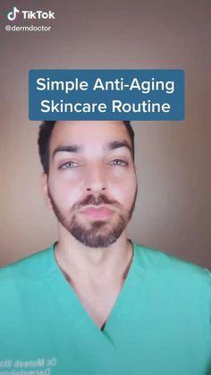 Drugstore anti-aging skincare routine