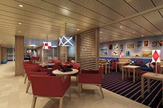Family Harbor Lounge on Carnival Vista (Photo: Carnival Cruise Line)