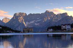 Lago di Misurina Belluno Dolomiti Veneto Italia foto Matteo Ingrosso