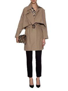 Windsor removable-cape trench coat | Vivienne Westwood Anglomania | MATCHESFASHION.COM UK