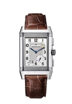 Jaeger-LeCoultre Mens 3028420 Reverso Grande GMT Watch: Watches: www.girardperregauxwatches.com