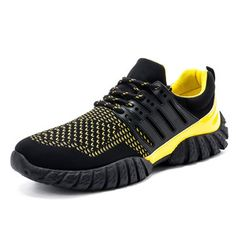 972bc5fbc Hombres estiramiento tejido Splicing deporte transpirable Running Outdoor  Sneakers · Male ShoesShoes MenMen's ...