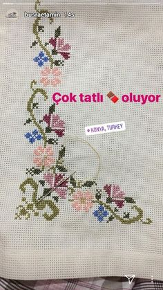 This post was discovered by Ge Cross Stitching, Cross Stitch Embroidery, Hand Embroidery, Embroidery Designs, Cross Stitch Designs, Cross Stitch Patterns, Palestinian Embroidery, Cross Stitch Rose, Needlework