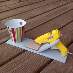 Hey, I found this really awesome Etsy listing at https://www.etsy.com/listing/260713849/wooden-glue-gun-holder