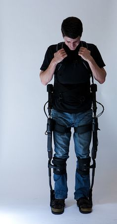 eLegs, to stand again. Help for those in pain perhaps.