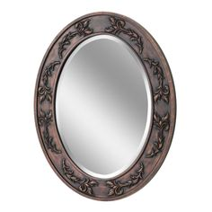 Classic Scroll Oval Wall Mirror (1049)