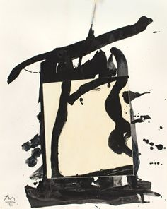 ROBERT MOTHERWELL, UNTITLED