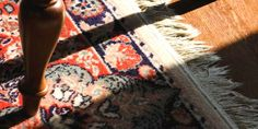 Cleaning Methods to Clean and Remove Stains from an Oriental Rug.