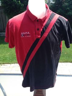 Vintage Small U.S.P.A Polo by MajorDivision on Etsy https://www.etsy.com/listing/237085224/vintage-small-uspa-polo