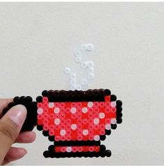 Coffee Perler beads