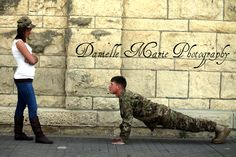 Drop and give me 20! Military Love