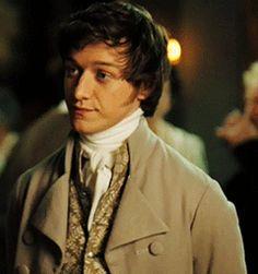 James McAvoy, Mr. Tom Lefroy - Becoming Jane directed by Julian Jarrold (2007) #janeausten