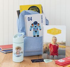 cool personalized back to school shopping supplies for kids at Minted