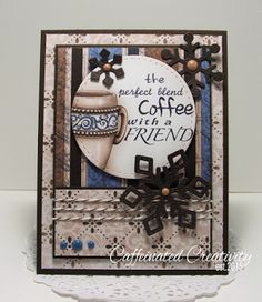 the perfect blend... by ChattinChick - Cards and Paper Crafts at Splitcoaststampers