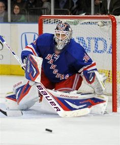 Henrik Lundqvist...in my mind, the best goaltender in all of the NHL today. His stinginess has been a huge part of the Rangers' regular season success over the last few years, despite coming up empty in numerous Stanley Cup playoff appearances.