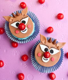 Video: How to make Rudolph cupcake toppers • CakeJournal.com