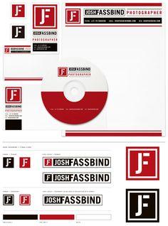 Josh Fassbind Photographer #logo #branding #identity i love nubbytwiglet blog!!!