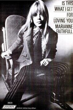 Marianne Faithfull 18 Février 1967
