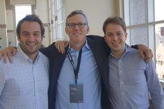 Nicolas, Mathieu et Brian Halligan @ HubSpot