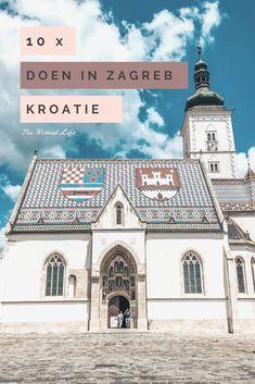 Dit is er te zien en te doen in de hoofdstad van van Kroatië, Zagreb! #zagreb #travel #reizen #Kroatië #citytrip #vakantie Mansions, House Styles, Blog, Travel, Life, Viajes, Manor Houses, Villas, Mansion