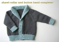 Sweater Techniques Series – Gramps Baby Cardigan – 6 / 6 : Finishing Touches « Tin Can Knits Baby Boy Knitting Patterns, Baby Sweater Knitting Pattern, Knit Baby Sweaters, Boys Sweaters, Cardigan Pattern, Knitting For Kids, Baby Patterns, Knit Patterns, Free Knitting