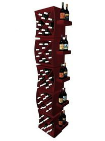 Wine Cellar Innovations Curvy Cubes Concave Diamond Wine Cubes Stacker with Display Trays Wine Cellar Innovations, Wine Storage, Concave, Cubes, Trays, Wine Rack, Display, Diamond, Home Decor
