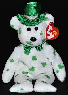 O Fortune - bear - Ty Beanie Babies Rare Beanie Babies d6e7690e6d64