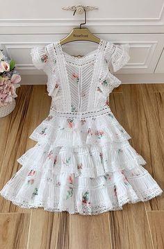 Stylish Dress Designs, Stylish Dresses, Cute Dresses, Casual Dresses, Summer Dresses, Cute Fashion, Boho Fashion, Fashion Dresses, Baby Girl Dresses