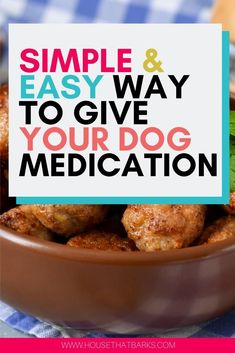 Chanel Dog Clothes Here's an easy way to get your dog to take it's medication. Dog Clothes Here's an easy way to get your dog to take it's medication. Homemade Dog Cookies, Homemade Dog Food, Dog Treat Recipes, Dog Food Recipes, Wet Dog Food, Pet Food, Medication For Dogs, Dog Nutrition, Dog Care Tips