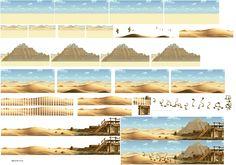 Sprite Database : Mission 4 (desert) Sprite Database, Horse Games, Game Background, Slug, Environment Concept, Color Palettes, Pixel Art, Game Art, Art Reference