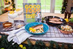 Crispy-Skin Salmon With Cauliflower, White Beans And Arugula | Home & Family | Hallmark Channel