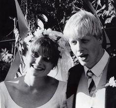 Boris Johnson & Allegra Mostyn-Owen 1987 Abdul Majid, London Bombings, Secretly Married, Mayor Of London, London Today, Boris Johnson, Ex Wives, West London, Celebrity Weddings