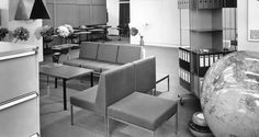 Geschichte 1950er + 1960er Couch, Furniture, Home Decor, History, Settee, Room Decor, Couches, Sofa, Home Interior Design