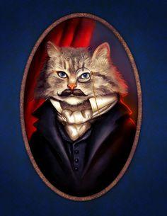 В этом уроке вы узнаете, как нарисовать забавный портрет стильно одетого кота. Данный стиль одежды навеян портретными картинами Викторианской эпохи.
