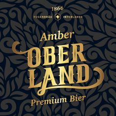 in flagranti design: Ober Land Premium Bier Packaging Design, Branding Design, Corporate Design, Sober, Landing, Brand Design, Package Design, Identity Branding