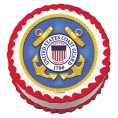 Coast Guard Edible Cake Topper Open House Party by BigCatCrafts, $4.50