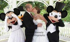 Disney Rose Garden Wedding  Fairytale Hair and Makeup