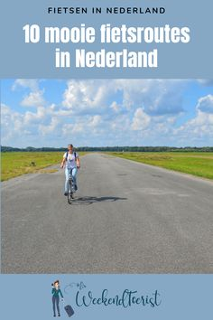 Cycling Wear, Holland, Places To Go, Road Trip, Country Roads, Journey, Van, Camping, City