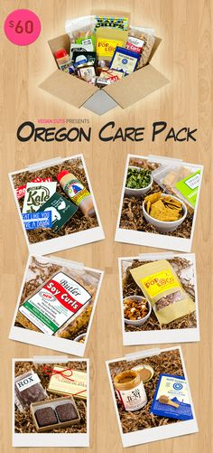 Travel to vegan foodie destinations without leaving your home! First stop: Oregon.