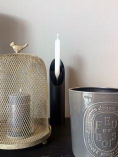 Bougeoir et porte-encens en aluminium d'Eugeni QUITLLET, designer phare de Maison & Objet 2016.
