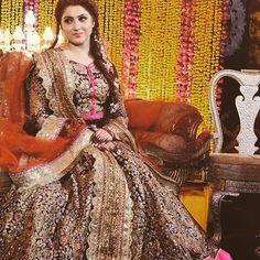 Sometimes all you need is colours... #AliXeeshan #signature #bride #happybride #celebrations #weddingseason #weddingfestivities #pakistan #colorful #traditional .