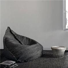 Sail Bean Bag By Hector Serrano For Gan - Gan Rugs - Home Furnishings - Unica Home
