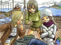 Julia, Elie, & Nagisa