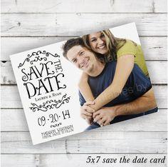 DIY Printable Save the Date