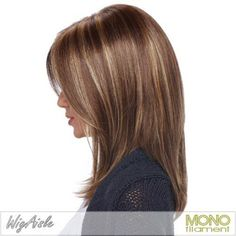 Medium Hair Cut for Girls Side View