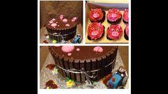 Piggy Cake & Cupcakes