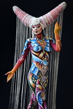 The incredible creativity of the artists at the World Bodypainting Festival 2018 The post The incredible creativity of artists at the World … appeared first on Woman Casual - Tattoos And Body Art Beauty And Fashion, Parisian Fashion, Bohemian Fashion, Fashion Clothes, Fashion Fashion, Retro Fashion, Fashion Mask, World Bodypainting Festival, Human Body Art