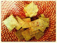Spicy Lentil and Seed Crackers | FaveGlutenFreeRecipes.com