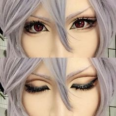 Ferid's Eye Make-Up for Cosplay